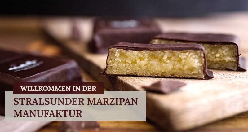 Willkommen in der Stralsunder Marzipan Manufaktur