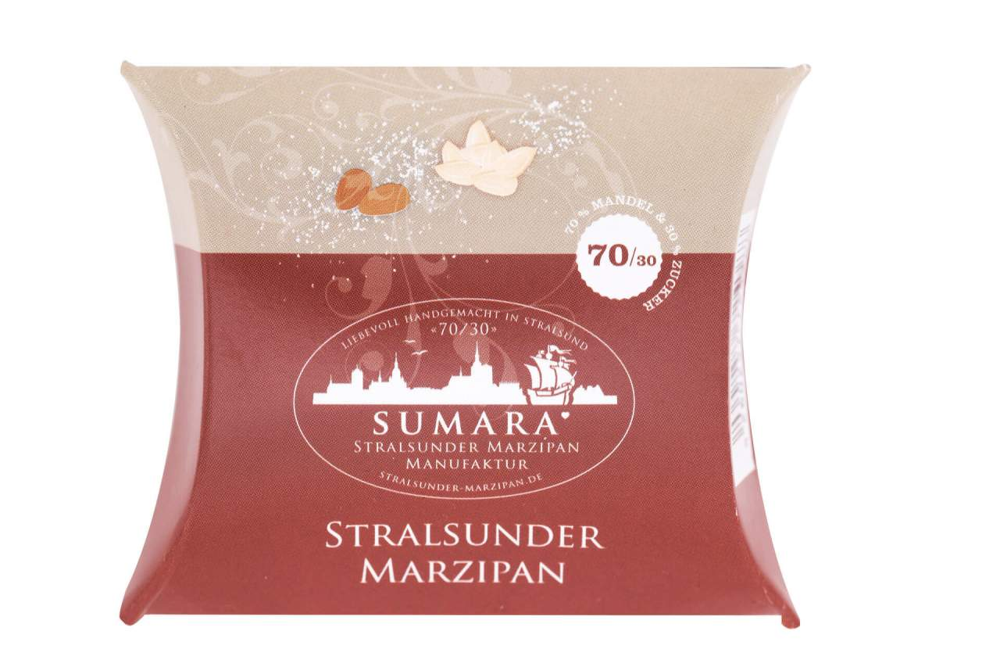 Mandelkissen aus Stralsunder Marzipan