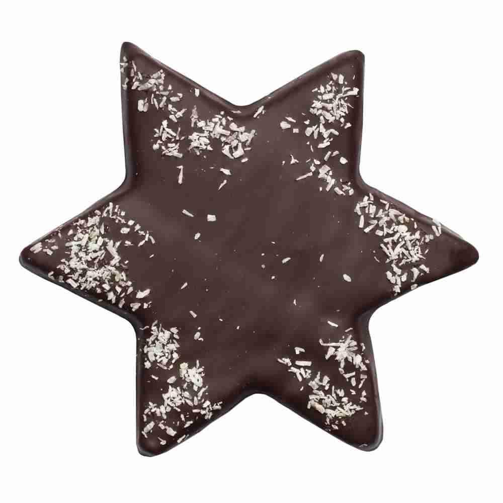 Weihnachtsstern mit Zartbitterschokolade