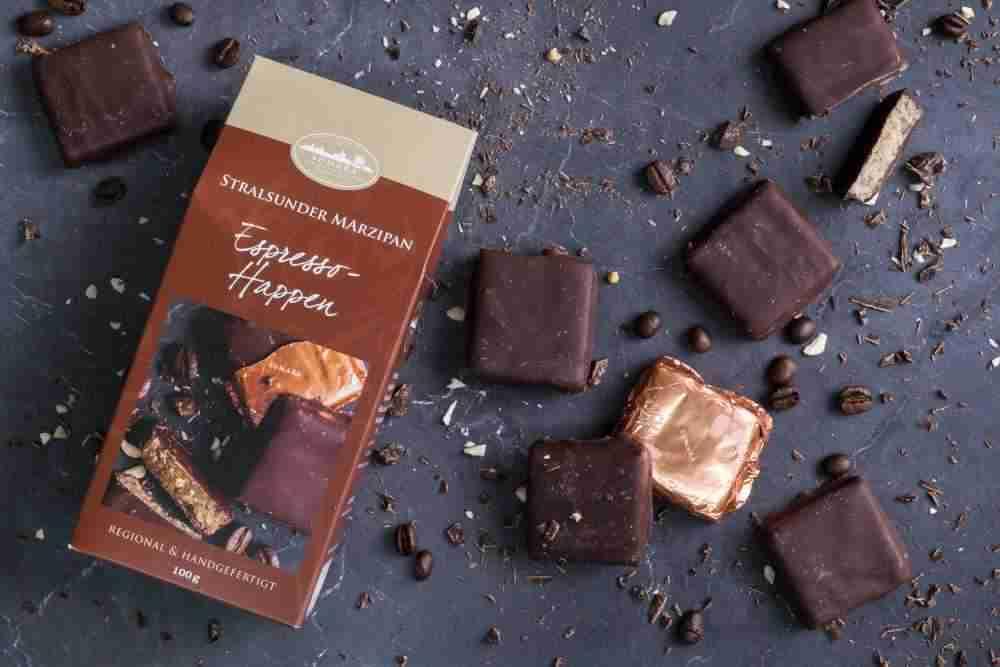 Espresso-Happen mit Zartbitterschokolade