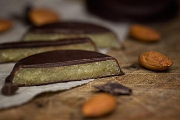 Goldtaler mit Zartbitterschokolade